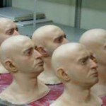 Портретные (точные копии) муляжи частей тела.