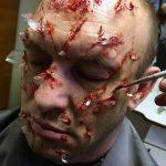 Пластический грим и спецэффекты. Реалистичные ранения.